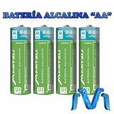 4 Batería Alcalina Pila Aa