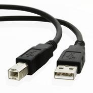 Cable Usb A/b 3 Mts Noga - 2.0 Negro Impresora (usb 2.0 3m)