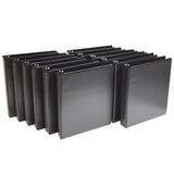 Caja 12 Carpetas Binder De 3 Anillos Archiveros Clasificador
