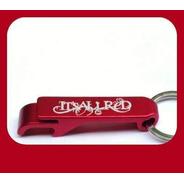 Chaveiro-abridor Banda It's All Red