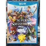 Nintendo Wii U Super Samsh Bros Nuevo Cerrado Original