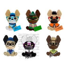 6 Trendy Dogs Perritos De Peluche Lote Pack X6 Colleccion