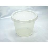 Kit Saco Com 50 Copos Descartáveis Cristal Max 250ml