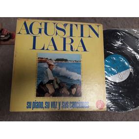 Lp Agustín Lara,su Piano,su Voz
