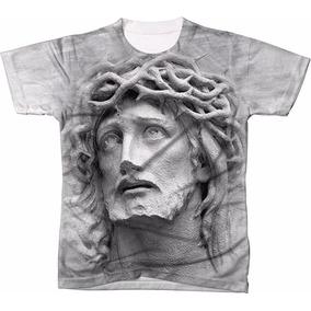 Camisa Camiseta Personalizada 3d Jesus Cristo Católico Deus