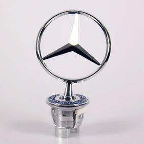 Emblema Estrela Capô Mercedes Benz Classes C Clk E S