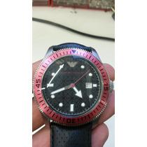 Relogio Emporio Armani Ar-0567 Edition Genuine Leather