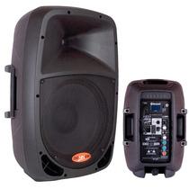 Caixa Ativa Bluetooth Amplificada Acustica 10 Usb Pc 120w