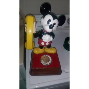 Telefono Vintage Micky Mouse 1976