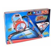 Pista Mortal Cylinder + 2 Autos Turbo Accion 2083 Ditoys