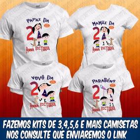 12 Camisetas Show Da Luna Aniversário Infantil Temática Fest e14d404bbad