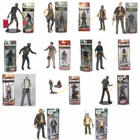 2 Bonecos The Walking Dead Mcfarlane Toys Action Figures