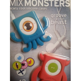 Protector Ipod Shuffle Monsters Silicon