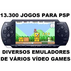 13.300 Jogos Super Nintendo, Mega Drive, Game Boy Para Psp