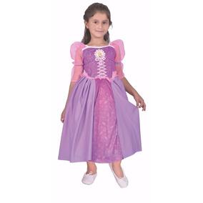 Disfraz De Rapunzel Con Luz Licencia Disney Original