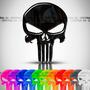 Adesivo The Punisher Iros Action 100 Es Resinado Caveira Sku