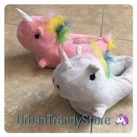 Pantuflas Unicornio Luz Led ¡envío Gratis! Entrega Inmediata