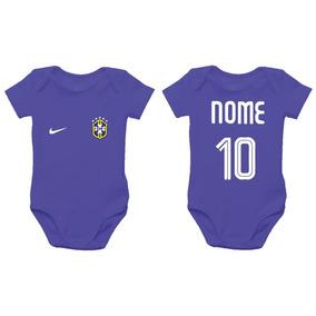 faaecfdc53 Body Bebe Selecao Brasileira - Bodies Azul de Bebê no Mercado Livre ...