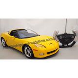 Carrinho Controle Remoto Chevrolet Corvette C6 Licenciada