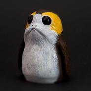 Boneco Porg 10,5cm Realista - Starwars Ep8 Os Últimos Jedi