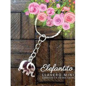 Recuerdos Para Baby Shower Elefantitos Elefante Llavero Mini