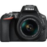 Nikon Cámara Reflex D5600 Y Lente Af-p Dx Nikkor 18-55mm
