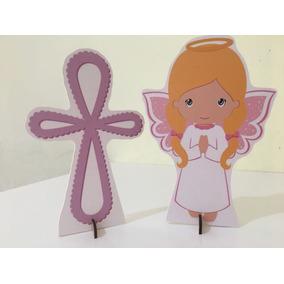 Batizado De Menina 10 Display,festa Infantil,mdf