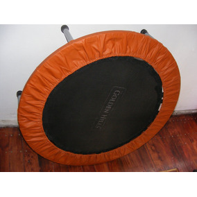 Mini Trampolin Aerobico Fitnnes Para Power Jump Golden Hills