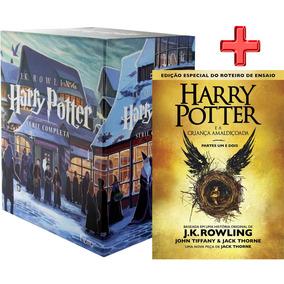 Livro Box Coleçã O Mundo Mágico De Harry Potter Frete Gratis