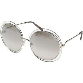 Chloe Oculos Branco - Óculos De Sol no Mercado Livre Brasil 29a3d95bf0