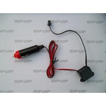 Inversor P/ El Wire 12v Luz Neon Fio Led Friso Reator Carro