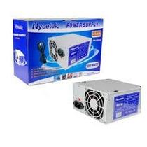 Fuente De Poder Nycetek 650 W Potente Con Cable