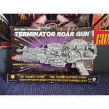 Arma Terminator Con Luz Y Sonido Años 80 De Colección