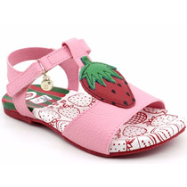 Sandália Infantil Bibi Qs107 Velcro   Pixolé Calçados