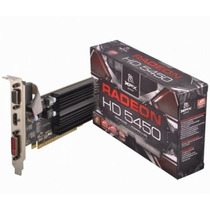 Placa De Video Xfx Ati Radeon Hd 5450 1gb 650m Hdmi Dvi Vga