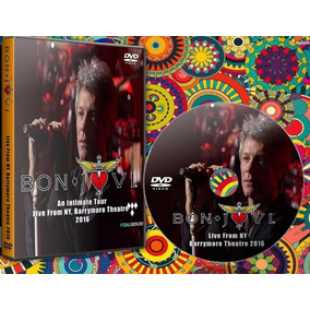 Dvd Bon Jovi Live From New York 2016 This House Is Not Sale