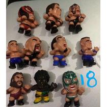 Figuras Wwe Luchadores Cabezones John Cena Capsulas Vending