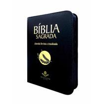 Bíblia Com Zíper Almeida Revista E Atualizada