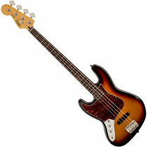 Baixo Canhoto Fender Squier Jazz Bass Vintage Modified Lh