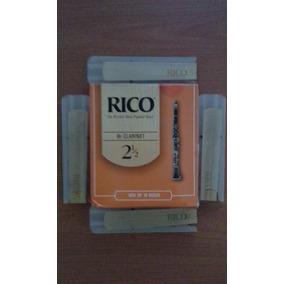 Cañas Para Clarinete 2 1/2 Marca Rico X Unidad Nuevas