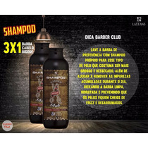 Shampoo 3x1 Barba/cabelo/bigode Lattans Barber Club 250ml