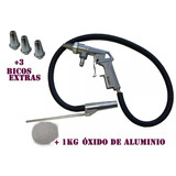 Pistola Jato Areia 3extras Bicos Free Brasil