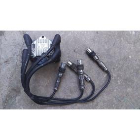 Bobina Polo 1.6 Con Cables Para Bujia 2004 2005 2006 2007