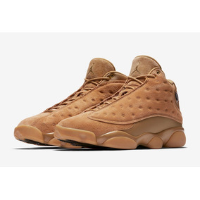 Nike Air Jordan Retro 13 Wheat Basquetbol Mayma Sneakers
