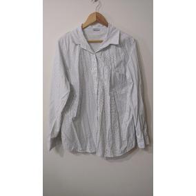 Camisa Rallada, Talles Grandes, De Vestir, Adolecentes