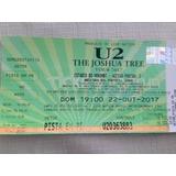 Vendo Ingresso U2 Dia 22 De Outubro/17 - Pista