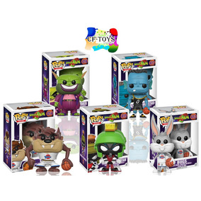 Space Jam Set 5 Piezas Funko Pop Pelicula Michael Jordan Cf