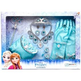 Briquedos Frozen Acessórios 12 Peças Br617 Menina Multikids