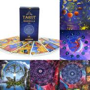 Cartas Tarot Marsella + Paño Tirada 70cm.x70cm.c/bolsa