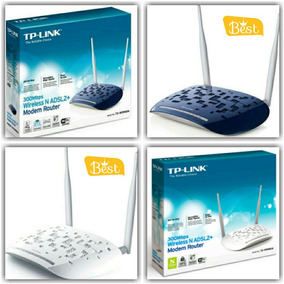 Modem Roteador Wireless N Adsl2+300mbps Tp-link Td-w 8960/1n